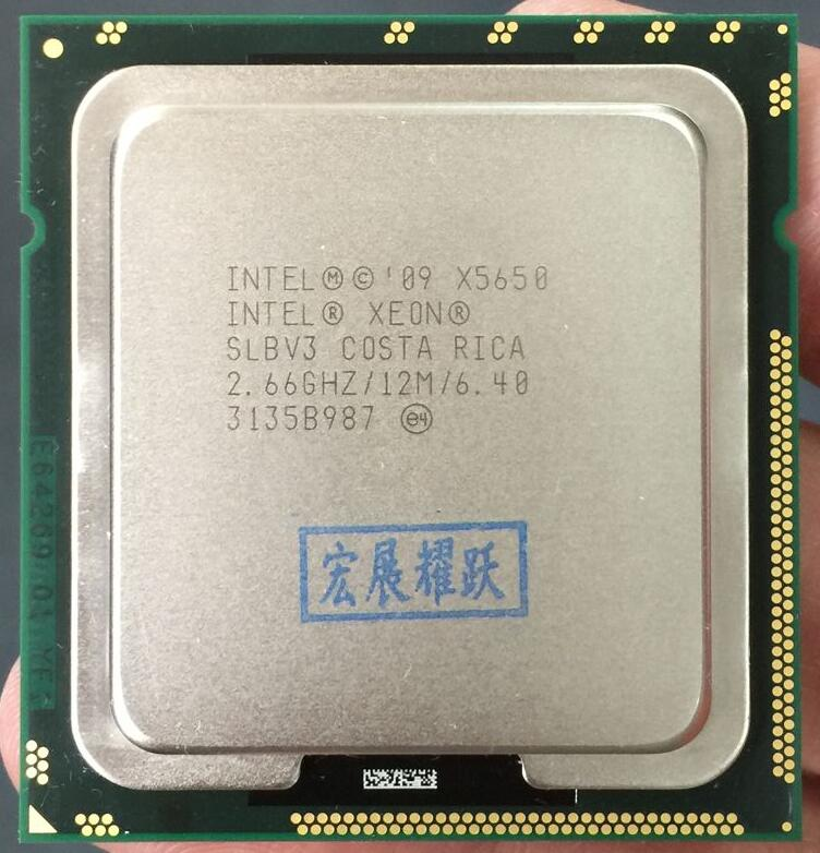 PC computer Intel Xeon Processor X5650 (12M Cache, 2.66 GHz, 6.40 GT/s Intel QPI) LGA 1366 ServerCPUPC computer Intel Xeon Processor X5650 (12M Cache, 2.66 GHz, 6.40 GT/s Intel QPI) LGA 1366 ServerCPU