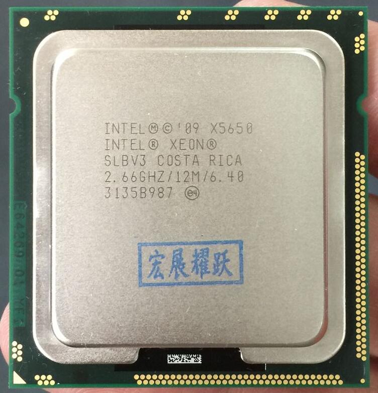 PC del computer Processore Intel Xeon X5650 (12 m Cache, 2.66 ghz, 6.40 GT/s Intel QPI) LGA 1366 ServerCPU