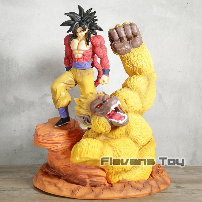 Anime Dragon Ball Z Super Saiyan 4 Son Goku Resin Statue Figure Collection Model ToyAnime Dragon Ball Z Super Saiyan 4 Son Goku Resin Statue Figure Collection Model Toy