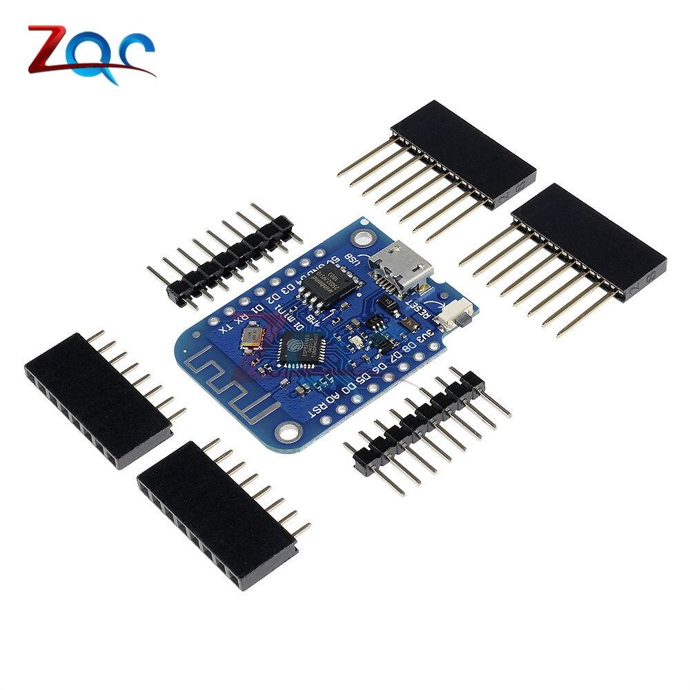 Pour WeMos D1 mini V3.0.0 WIFI Internet de Chose Conseil de Développement Sans Fil ESP8266 CH340 4 mb Pour Arduino Nodemcu V2 microPython