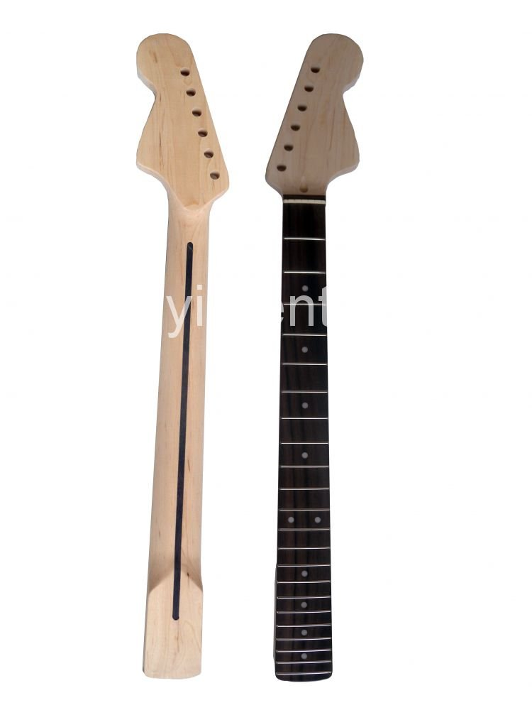628mm  Unfinished electric guitar neck Mahogany  rose wood fingerboard   model   radius of the fingerboard : 12 недорого