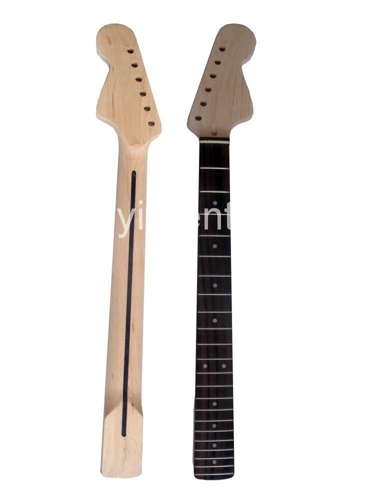 628mm unfinished electric guitar neck mahogany rose wood fingerboard model radius of the. Black Bedroom Furniture Sets. Home Design Ideas