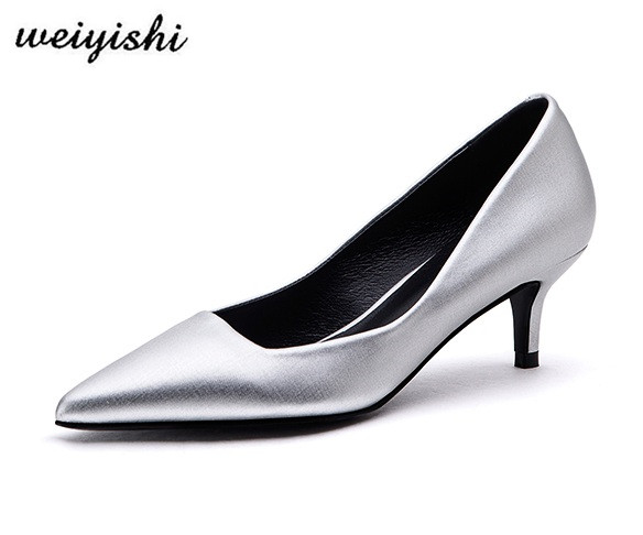 2018 women new fashion shoes lady shoes weiyishi brand 015