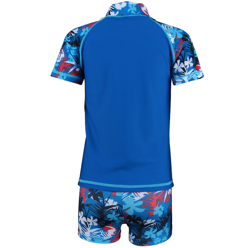 2-7Y Baby Boys Summer Two-Pieces Rashguard Sport Swim suits Kids Swimwear Sun Protection Bathing Swimsuit Children Beachwear