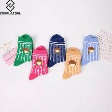 [COSPLACOOL]Warm socks young girls cartoon sweater seasons funny socks women new calcetines cute soft meias women cotton socks