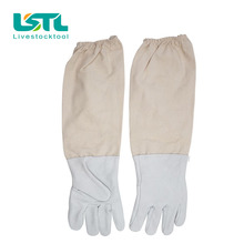 Free Shipping Beekeeping Protective Gloves Breathable Material beekeepeing Gloves bee tools for Beekeeperl25