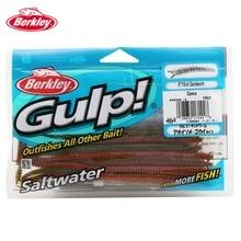 Berkley Brand Gulp GSSW6 15cm 6″ 10p/lot 3 colors Worm Bait Soft Fishing Lure Artificial Bait Saltwater Sandworm Fishing lure