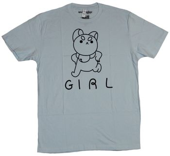 Bee and & Puppycat Mens T-Shirt - Line Drawn Puppycat Girl Image Cartoon t shirt men Unisex New Fashion tshirt free