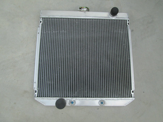 US $140 0 |Hot Selling Aluminum Radiator For Ford FALCON FAIRLANE XY XW 302  GS GT 351 cleveland 1969 1972 Manual/Auto 69 70 71 72-in Oil Coolers from