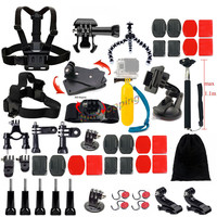 Accessories Set for Gopro Outdoor Sports Kit Go pro Accessories for Gopro Hero 4 3+ 3 Sj4000 sjcam Camera xiaomi yi accessories