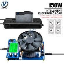 150W dijital pil kapasitesi test cihazı elektronik yük akıllı ayarlanabilir sabit akım deşarj direnci güç test cihazı