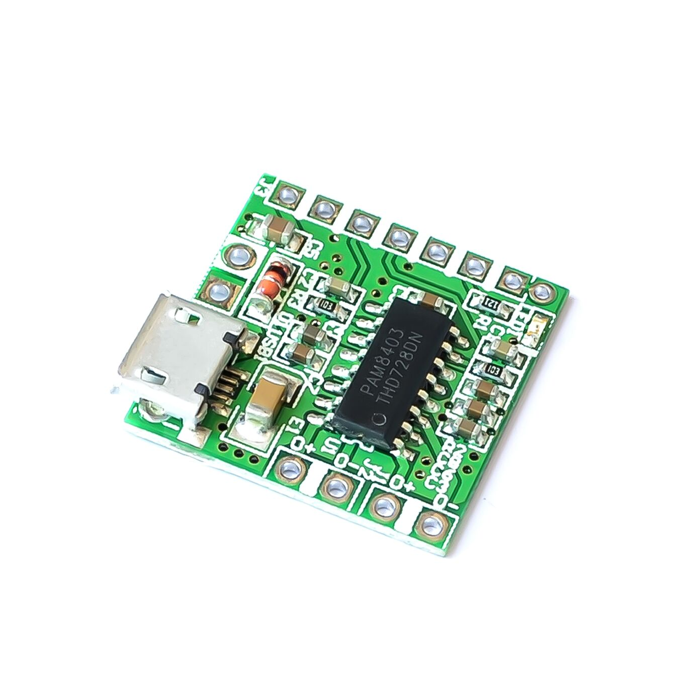 NEW PAM8403 DC 5V Mini Class D <font><b>2x3W</b></font> USB Power <font><b>Amplifier</b></font> Board DIY Bluetooth Speaker image