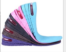 Elevated Air Cushion In The Whole Pad Of The Two Layer 5cm Increase Pad 35-44 women and men shoes insole
