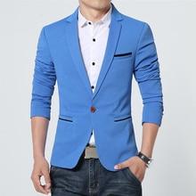 Blazer men casual slim fit blazers mens fashion korean Terno Masculino blazer suits abrigo hombre luxury spring auutmn jackets