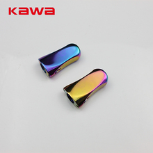 Kawa 2017 New Fishing Knob Rainbow Color Alloy Alluminum Casting and Spinning Fishing Reel Accessory Free