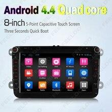 8″ Android 4.4.4 Quad Core Car DVD GPS Radio For VW Golf 5 6/Polo/Passat/Jetta/Tiguan/Touran #FD-2427