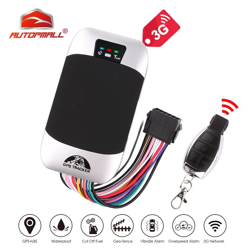 Car GPS Tracker 3G Vehicle Tracker GPS Locator Coban TK303G Waterproof IP66 Remote Control Cut Off