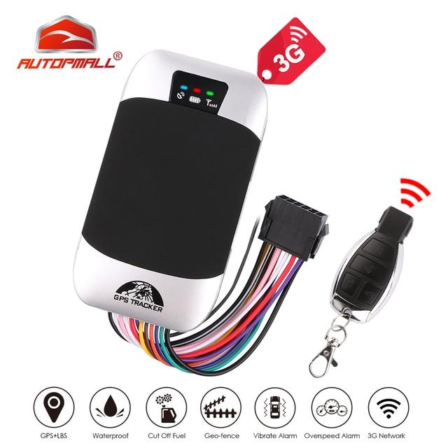 רכב GPS Tracker 3G רכב גשש איתור GPS Coban TK303G עמיד למים IP66 שלט רחוק מנותק מנוע גיאוגרפי גדר משלוח Web APP