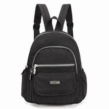 Pretty Style Girl's Backpack Waterproof Nylon Lady Women's Backpacks Female Casual Travel Bags mochila feminina Teenage Backpack