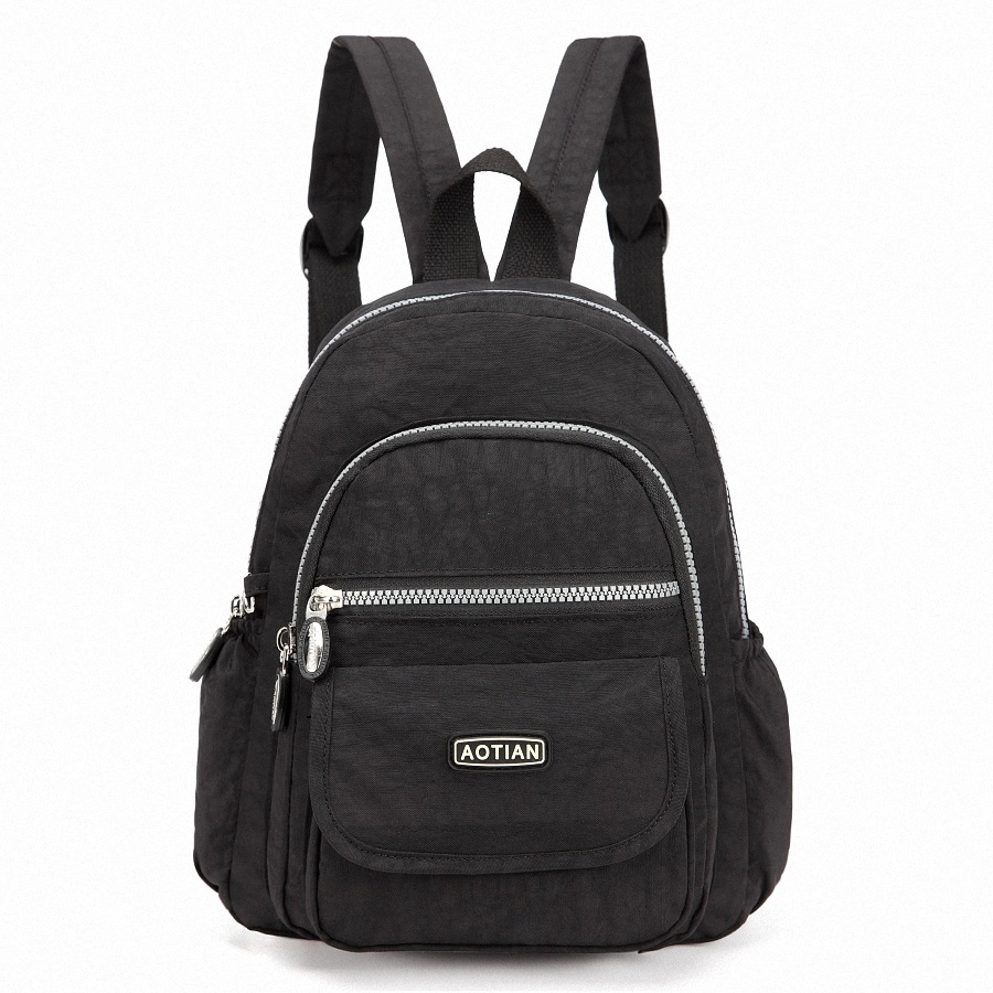 여성 배낭 방수 나일론 레이디 걸스 배낭 여성 캐주얼 여행 가방 mochila feminina 십대 배낭 소형 지갑