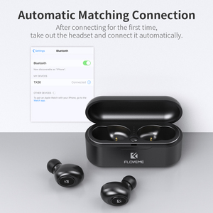 Image 4 - Floveme Bluetooth Headphones 5.0 Tws Stereo Wireless Earphone Mini Bluetooth Headset With Mic Charging Box For Xiaomi mi Phone