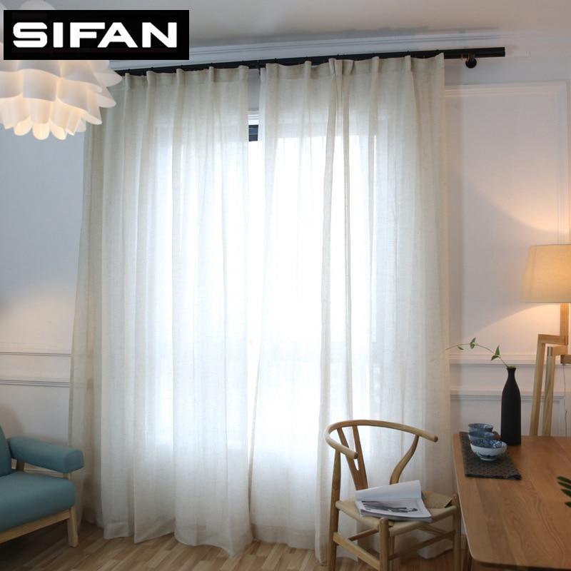 Moderne Vorhange Fur Wohnzimmer gardinen ideen Solide Farben Elegante Moderne Solide Faux Leinen Tll Vorhnge Fr Das Schlafzimmer Vorhnge Fr Wohnzimmer Sheer