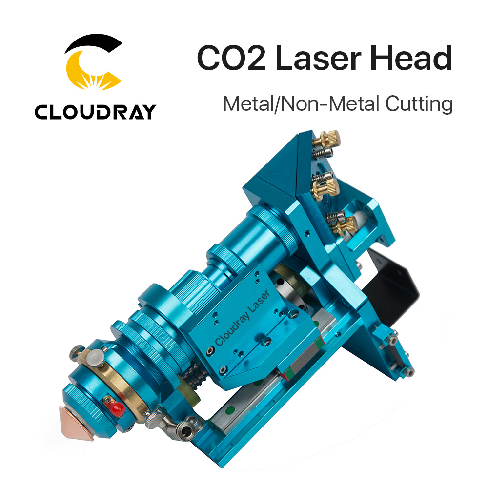 Cloudray 150-500W CO2 Laser Cutting Head Metal Non-Metal Hybrid Auto Focus for Laser Cutting Machine Model B 500w co2 laser cutting metal machine head and non metal mixed cut head motor and driver for laser cutting machine laser tools