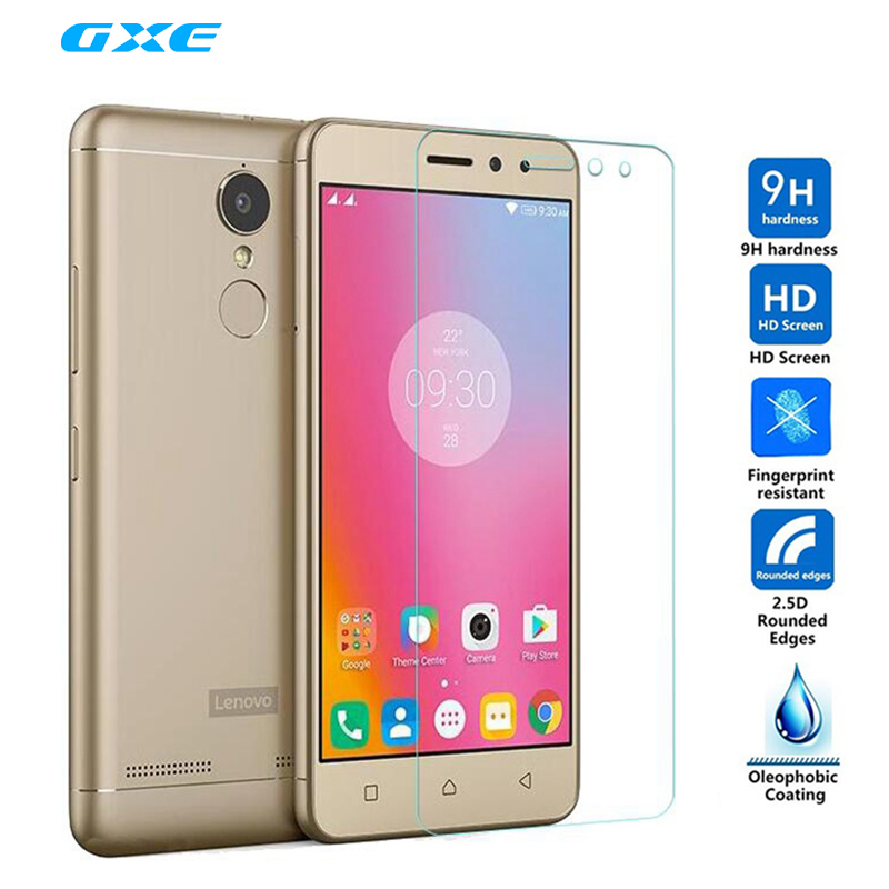 Premium Ultra Clear Fashion Tempered Glass Screen Protector Film for Lenovo K6 / K6 Power / K6 Note P2 K5 Plus Protective Guard