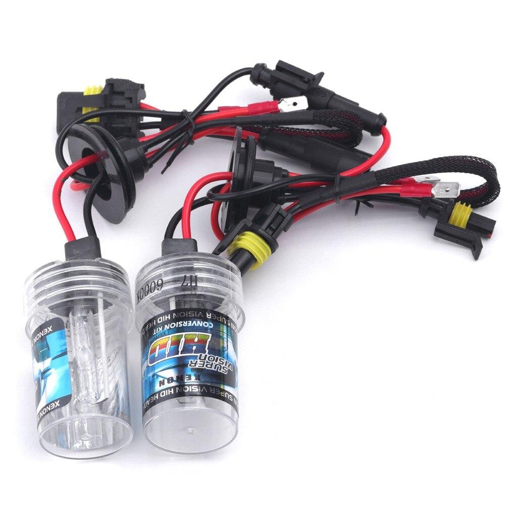 35W 55W HID Xenon Bulb 12V Auto Car Headlight Conversion kit 3000K 4300K  5000K 6000K 8000K