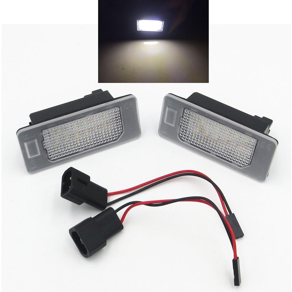 CYAN SOIL BAY 2x Error Free LED License Plate Light Lamp For BMW E90 F30 E39 E60 4D Sedan/E91 F11 E84 F25 F15 E70 E72 E71 5D 2x e marked obc error free 24 led white license number plate light lamp for bmw e81 e82 e90 e91 e92 e93 e60 e61 e39 x1 e84