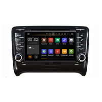 Runningnav Android 7.1 RAM 2G Fit AUDI TT 2006-2011 Car DVD Player GPS de Navegação Rádio