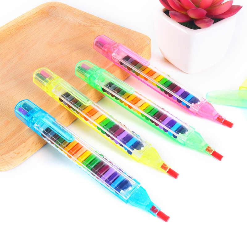 20 Pcs צבעוני ציור עפרונות גרפיטי עט ילדים יום הולדת מתנה שלל מסיבת תיק חומרי מילוי ציור עטי DIY עיפרון אספקת ציור