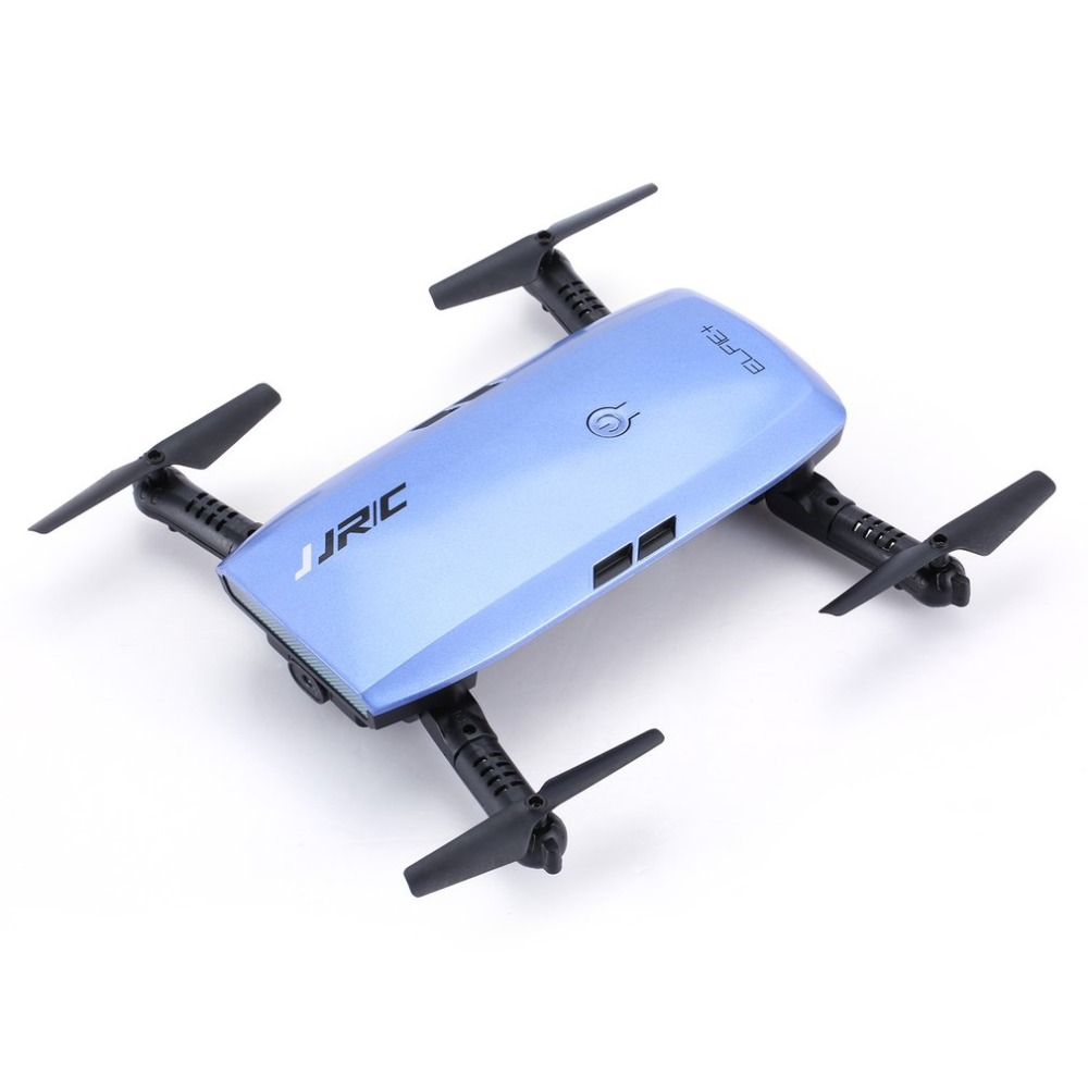 JJR/C H47 ELFIE WIFI FPV Drone With 720P HD Camera Altitude Hold Mode Foldable G-sensor Mini RC Selfie Quadcopter jjrc h47 rc drone with camera 720p g sensor wifi function foldable arm quadcopter headless mode altitude hold selfie drone hot