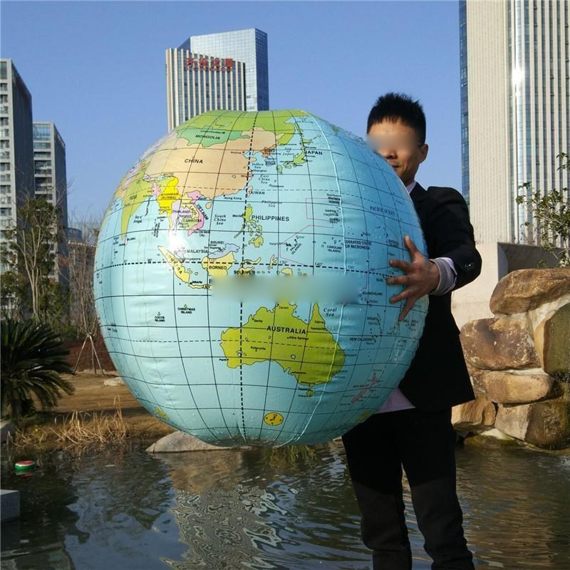 54CM Inflatable Globe Map Ball Geography Learning Educational World Earth Ocean Beach Ball Kids Geography Educational Supplies54CM Inflatable Globe Map Ball Geography Learning Educational World Earth Ocean Beach Ball Kids Geography Educational Supplies