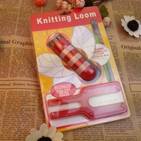 Free Shipping Plastic French Doll knitting loom Rope Weaving Tool Easy Rope Weaved handmade crafts needlework