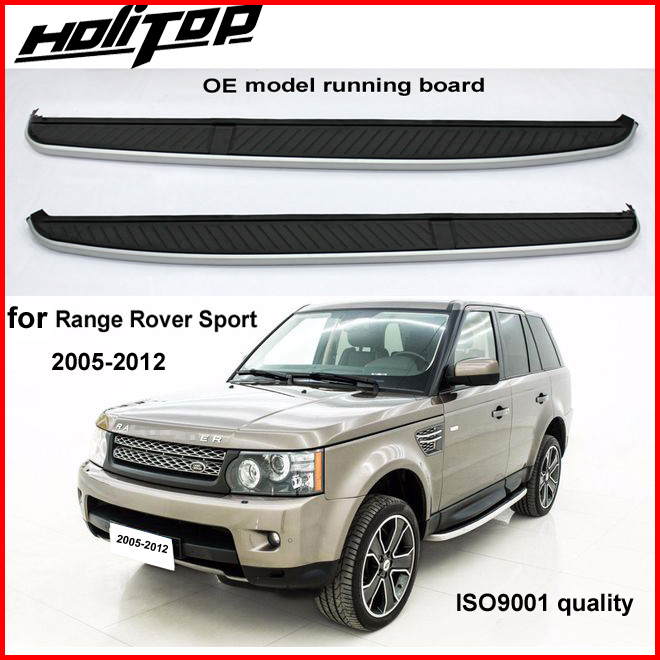 OE side bar running board nerf bar side step for Range Rover Sport 2005 2012,real excellent quality,always supply the best,