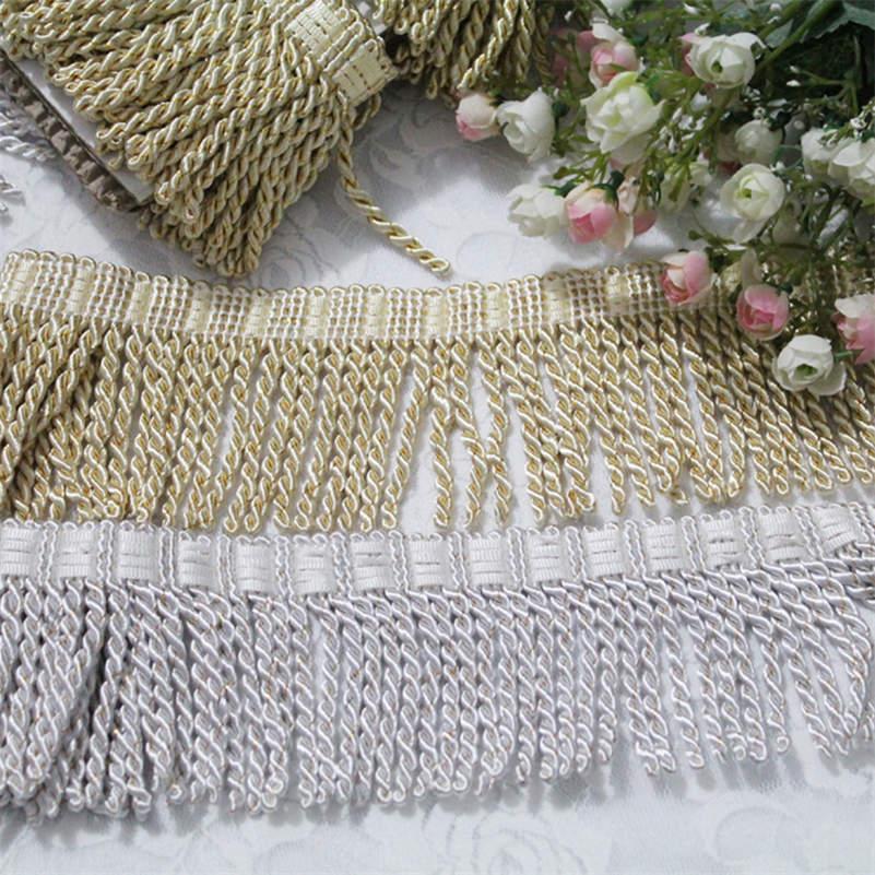 11m Assorted Fringe Tassel Trim Upholstery Curtain Lamp Trimmings Bag Costume