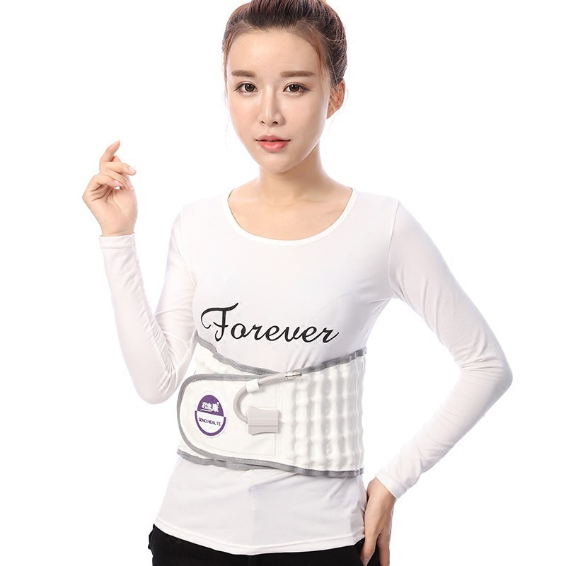 New Gas-filled Type Waist Vertebra Corrector Lumbar Brace Spine Traction Support Belt Posture Correction For Men And Women T263 adjustable wrist and forearm splint external fixed support wrist brace fixing orthosisfit for men and women