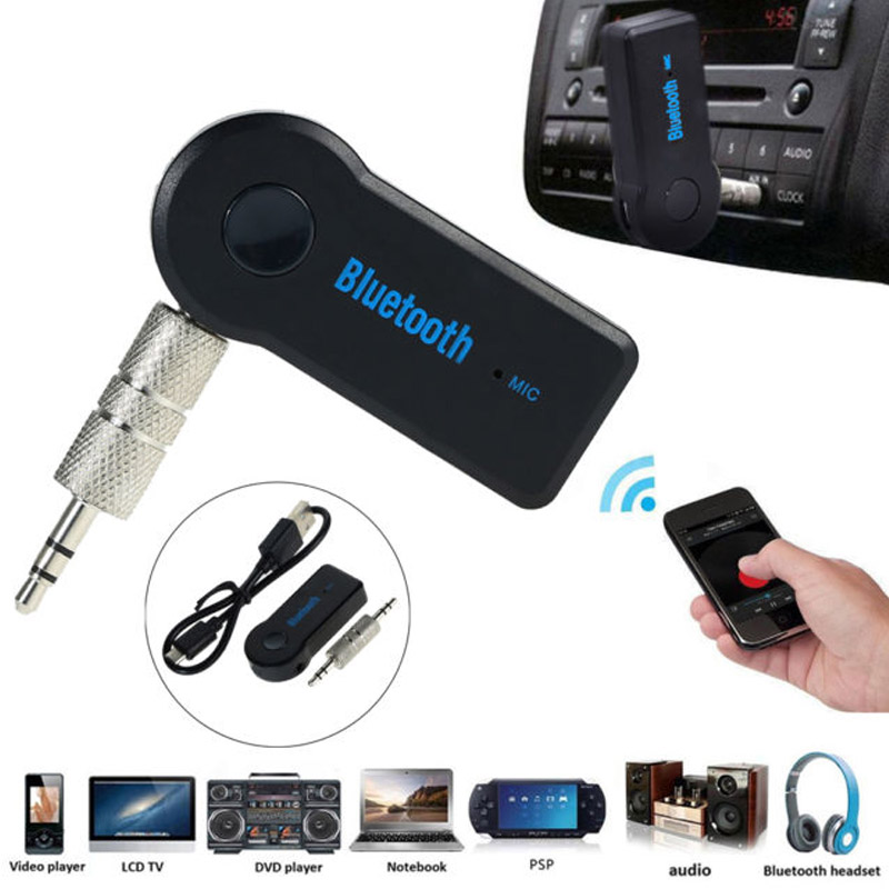 Bluetooth 3,5 мм автомобиля музыкальный приемник авто Music Receiver Домашнее аудио стерео портативный музыкальный приемник адаптер для динамиков автомобиля Aux Smart