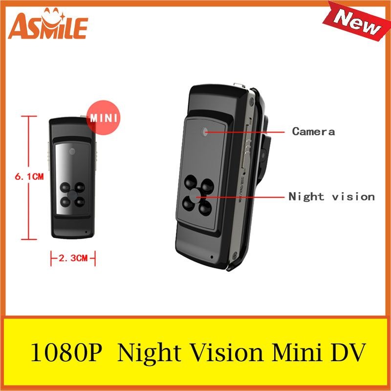 2017 new Y2 Mini DV HD Action Camera DVR Sports Portable 1920 * 1080 Video Audio Recorder Supports Motion Detection 480p 2017 digital hd cmos 2 0 camera video audio mini camera small camcorde dv dvr recorder web cam
