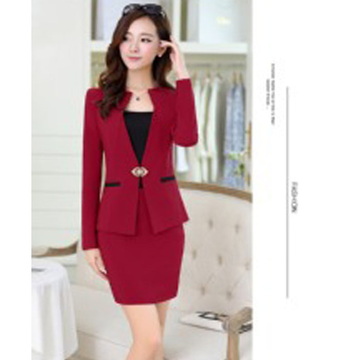 Professional Women New Winter Pants Suit Red Pants Suits For Womens