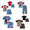 2016 новое прибытие дети пижамы для мальчиков puppy patrol pijamas дети Одежда для девочек пиёамы enfant fille мальчиков пижамы наборы