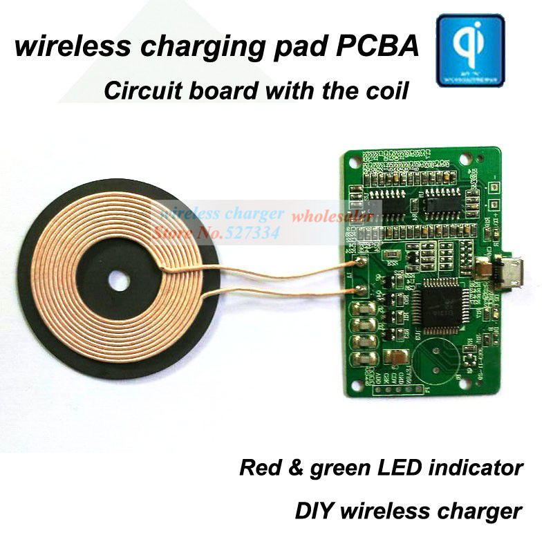 qi wireless chargerpcba sample wireless charging circuit