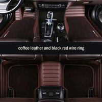 Пользовательские автомобильные коврики высокие эластичные прошивной коврик для Форд Все модели focus праздничный fiesta F800 fusion L LN Explorer Taurus аксе