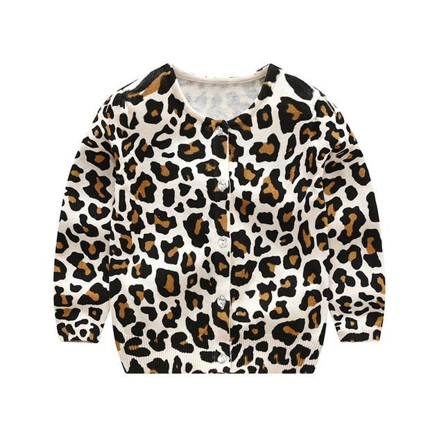 7bd100f6128f49 Αγορά Αγόρια ' ρούχα | LILIGIRL Baby Leopard Knitted Long Sleeve T ...