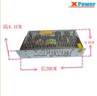 Atacado 220 v 110 v AC para 12 V DC Transformador Adaptador De Alimentação 15A AC DC para fonte de Alimentação de 2 Vias de saída para DC motor dispositivo