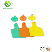 TPU ear tag with/without words sign animals idetification card livestock for pig cattle sheep goat farm equipment Nong sheng le сумка printio sign sheep