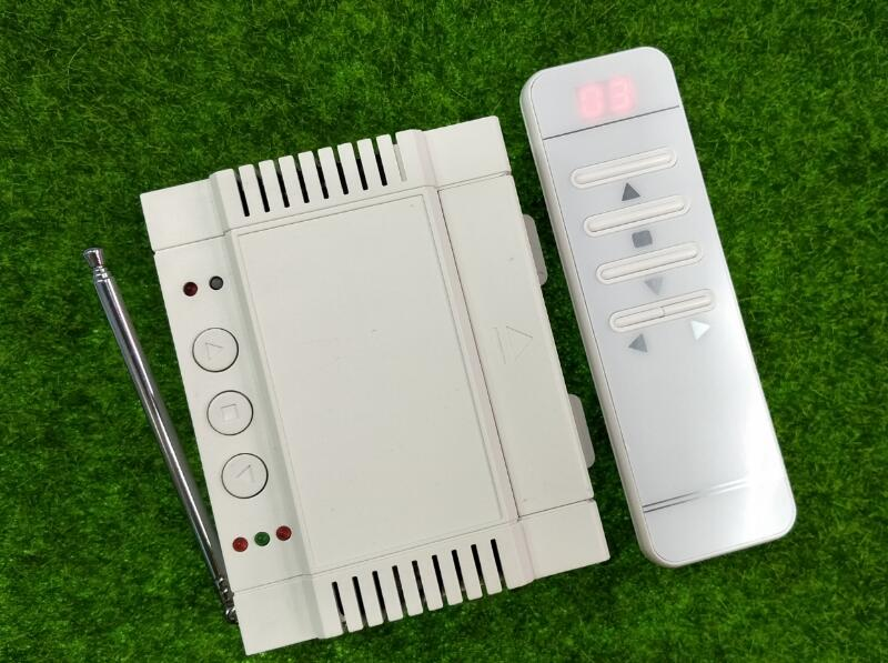 AC 220V 240V 250V digital remote 2CH 40A relay RF Wireless Remote Control for garage door/motor/projection screen/blinds limit