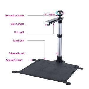 Image 2 - Máy Scan Sách Tài Liệu W1200T Pro, Camera 1200Dpi + Tặng 500Dpi, Phiên Bản Mới kích Thước Chụp A3, A4 Cùng, Cho Windows, Phần Mềm Tiếng Anh
