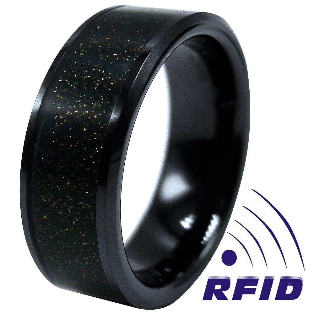 World Premiere Wearable UID IC RFID Smart Card Ring